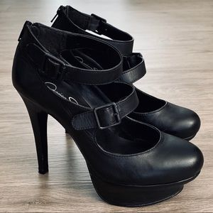 Jessica Simpson Black Pumps 👠
